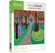 Pomegranate Pomegranate Darlene Kulig: Gustav's Cat Puzzle 1000pcs