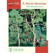 Pomegranate Pomegranate E. Martin Hennings: The Rendezvous Puzzle 1000pcs
