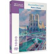 Pomegranate Pomegranate Maximilien Luce: Notre-Dame Puzzle 1000pcs