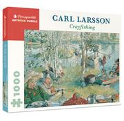 Pomegranate Pomegranate Carl Larsson: Crayfishing Puzzle 1000pcs