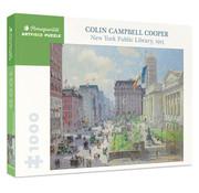 Pomegranate Pomegranate Colin Campbell Cooper: New York Public Library Puzzle 1000pcs