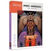 Pomegranate Pomegranate John Simpkins: Sri Yantra Puzzle 1000pcs