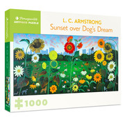 Pomegranate Pomegranate L. C. Armstrong: Sunset over Dog's Dream Puzzle 1000pcs