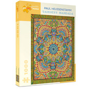 Pomegranate Pomegranate Paul Heussenstamm: Tapestry Mandala Puzzle 1000pcs