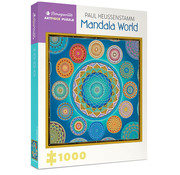 Pomegranate Pomegranate Paul Heussenstamm: Mandala World Puzzle 1000pcs