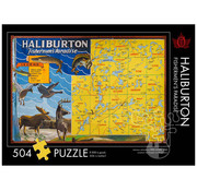 The Occurrence The Occurrence Haliburton: Fishermen's Paradise Puzzle 504pcs