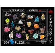 The Occurrence The Occurrence Minerals of Canada Puzzle 504pcs