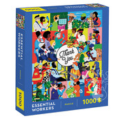 Chronicle Books Chronicle Essential Workers Puzzle 1000pcs