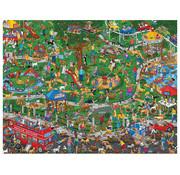 Springbok Springbok The Dog Park Puzzle 500pcs