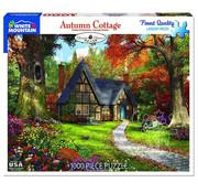 White Mountain White Mountain Autumn Cottage Puzzle 1000pcs