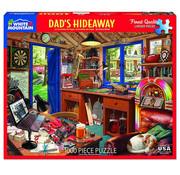 White Mountain White Mountain Dad's Hideaway Puzzle 1000pcs