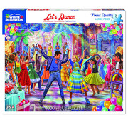 White Mountain White Mountain Let's Dance Puzzle 1000pcs