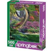 Springbok Springbok Garden Stairway Puzzle 500pcs