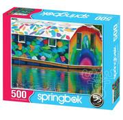 Springbok Springbok The Boathouse Puzzle 500pcs