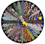 Springbok Springbok It's a Tie! Round Puzzle 500pcs