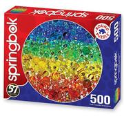Springbok Springbok Illuminated Marbles Round Puzzle 500pcs