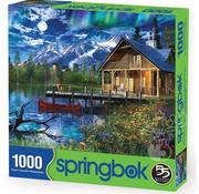 Springbok Springbok Moon Cabin Retreat Puzzle 1000pcs