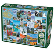 Cobble Hill Puzzles National Parks and Reserves of Canada Puzzle 1000pcs