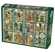 Cobble Hill Puzzles Cobble Hill Jardiniere A Gardener's Calendar Puzzle 1000pcs