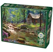 Cobble Hill Puzzles Cobble Hill Fishing Cabin Puzzle 1000pcs