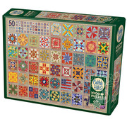 Cobble Hill Puzzles Cobble Hill 50 States Quilt Blocks Puzzle 1000pcs