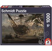 Schmidt Schmidt Ship At Anchor Puzzle 1000pcs