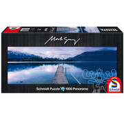 Schmidt Schmidt Lake Wakatipu - New Zealand Panorama Puzzle 1000pcs