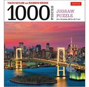 Tuttle Tuttle The Rainbow Bridge and Tokyo Tower Puzzle 1000pcs