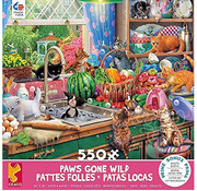 Ceaco Ceaco Paws Gone Wild Kitchen Capers Puzzle 550pcs