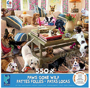 Ceaco Ceaco Paws Gone Wild Living Room Rompers Puzzle 550pcs