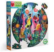 eeBoo eeBoo Moon Dance Round Puzzle 500pcs