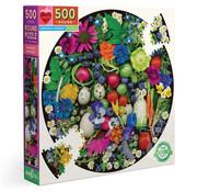 eeBoo eeBoo Organic Harvest Round Puzzle 500pcs
