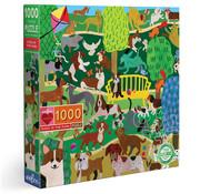 eeBoo eeBoo Dogs in the Park Puzzle 1000pcs