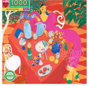 eeBoo eeBoo Eating Outside Puzzle 1000pcs