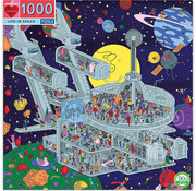 eeBoo eeBoo Life in Space Puzzle 1000pcs