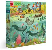 eeBoo eeBoo Otters Puzzle 1000pcs