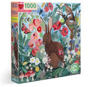 eeBoo eeBoo Poppy Bunny Puzzle 1000pcs