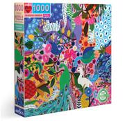 eeBoo eeBoo Peacock Garden Puzzle 1000pcs