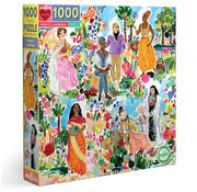 eeBoo eeBoo Poet's Garden Puzzle 1000pcs