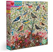eeBoo eeBoo Songbirds Tree Puzzle 1000pcs