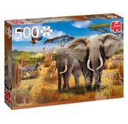 Jumbo Jumbo African Savannah Puzzle 500pcs