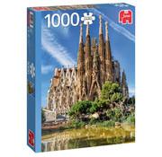 Jumbo Jumbo Sagrada Familia View, Barcelona Puzzle 1000pcs