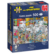 Jumbo Jumbo Candy Factory Puzzle 500pcs