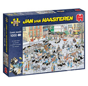 Jumbo Jumbo The Cattle Market Puzzle 1000pcs