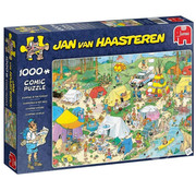 Jumbo Jumbo Camping in the Forest Puzzle 1000pcs