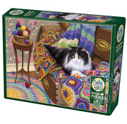 Cobble Hill Puzzles Cobble Hill Comfy Cat Puzzle 1000pcs