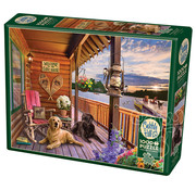 Cobble Hill Puzzles Cobble Hill Welcome to the Lake House Puzzle 1000pcs