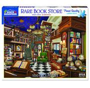 White Mountain White Mountain Rare Book Store Puzzle 1000pcs