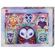 Heye Heye Dreaming, Great Big Owl Puzzle 1000pcs