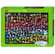 Heye Heye Doodle Rainbow Puzzle 1000pcs